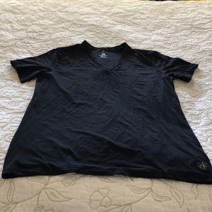 Calvin Klein Black T-shirt; looks brand new
